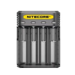 Nitecore caricabatteria Q4 - 4 Slot - Nero