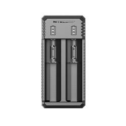 Nitecore caricabatteria UI2 - 2 slot - nero