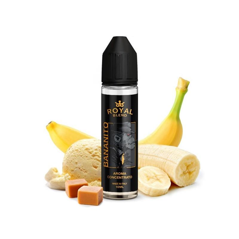 Royal Blend Bananito - Vape Shot - 10ml
