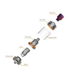 Sense Herakles 3 Atomizzatore - 4.5ml - Colorato