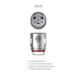 Smok resistenza T6 per TFV12 - 0.17ohm - 3pz