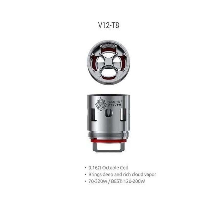 Smok resistenza T8 per TFV12 - 0.16ohm - 3pz