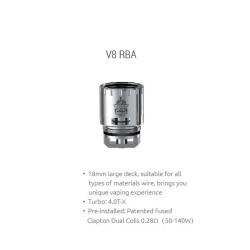 Smok resistenza V8-RBA per TFV8 - 1pz