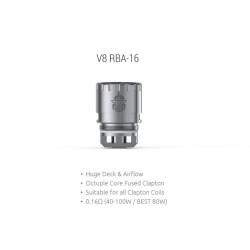 Smok resistenza V8 RBA-16 per TFV8 Cloud Beast - 1pz