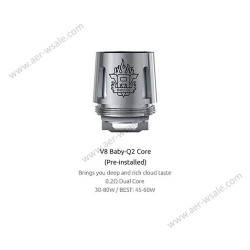 Smok resistenza Q2 per TFV8 Baby - 0.4ohm - 5pz