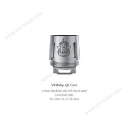 Smok resistenza Q2 per TFV8 Baby - 0.6ohm - 5pz
