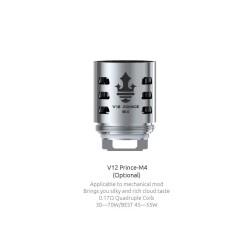 Smok resistenza M4 per TFV12 Prince - 3pz