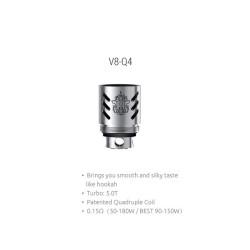 Smok resistenza V8 Q4 per TFV8 - 0.15ohm - 3pz