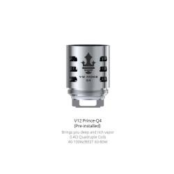 Smok resistenza Q4 per TFV12 Prince - 3pz