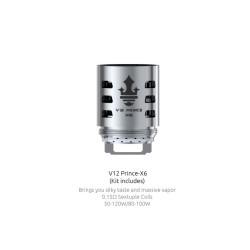 Smok resistenza X6 per TFV12 Prince - 3pz