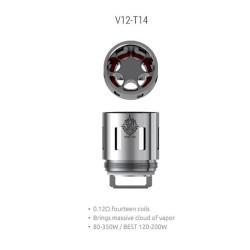 Smok resistenza V12-T14 per TFV12 - 0.12ohm - 3pz