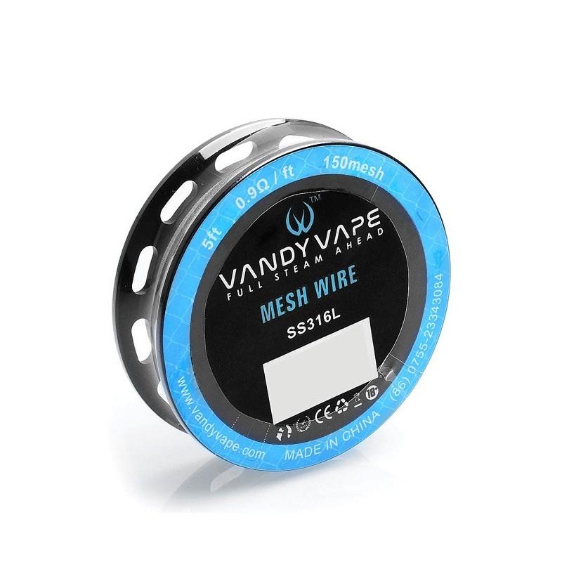 Vandy Vape SS316 Mesh Wire - 150mesh