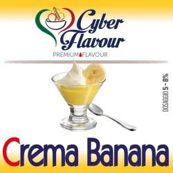 Cyber Flavour Aroma Crema Banana - 10ml
