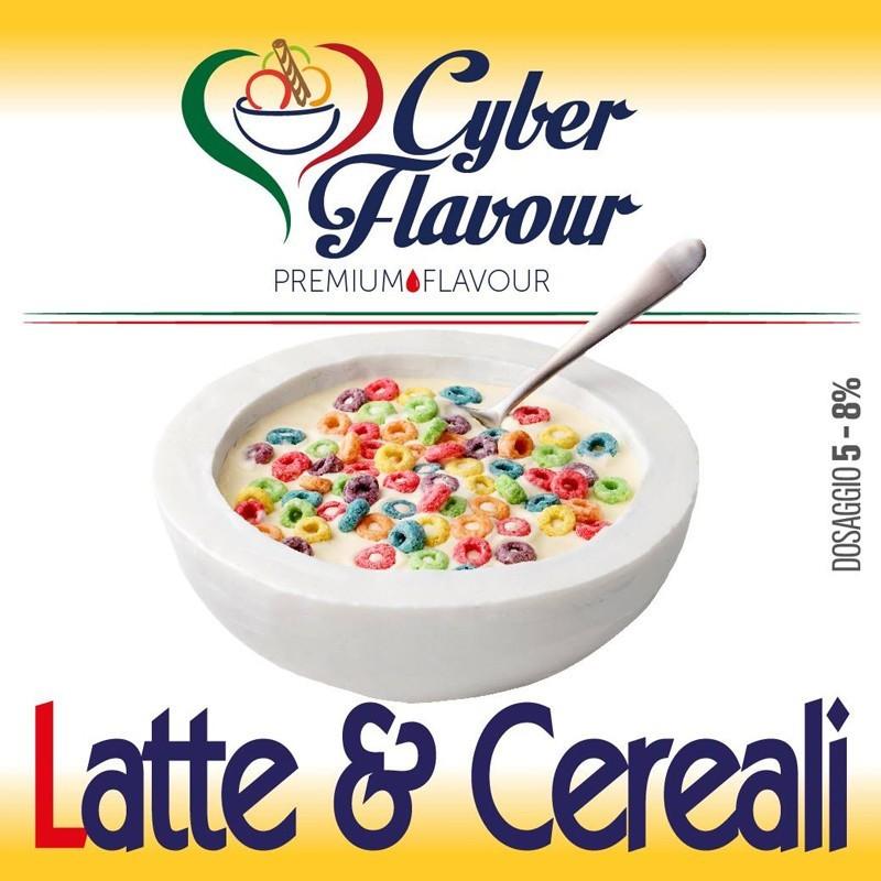 Cyber Flavour Aroma Latte e Cereali - 10ml