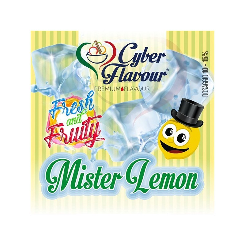 Cyber Flavour Aroma Mr Lemon - Linea Fresh and Fruity - 10ml