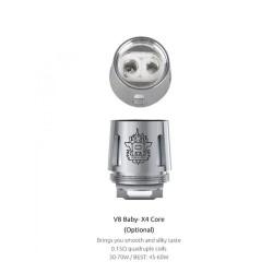 Smok resistenza X4 per TFV8 Baby - 0.15ohm - 5pz