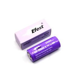 Efest Purple IMR26650 senza pin - 3500mAh - 64A