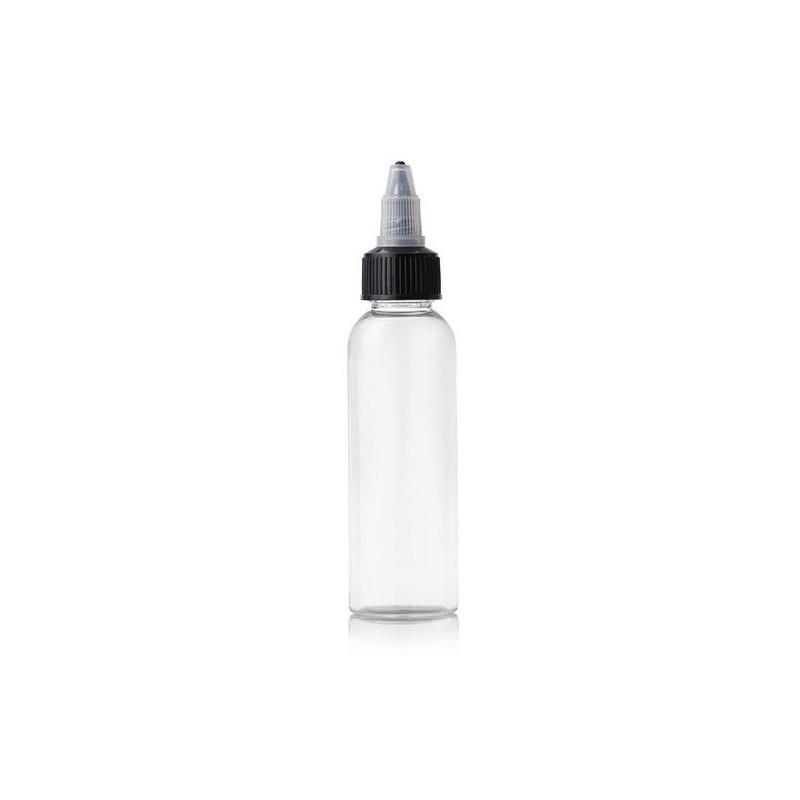 Flacone in Plastica Semirigida con Tappo Twist - 60ml - 10pz