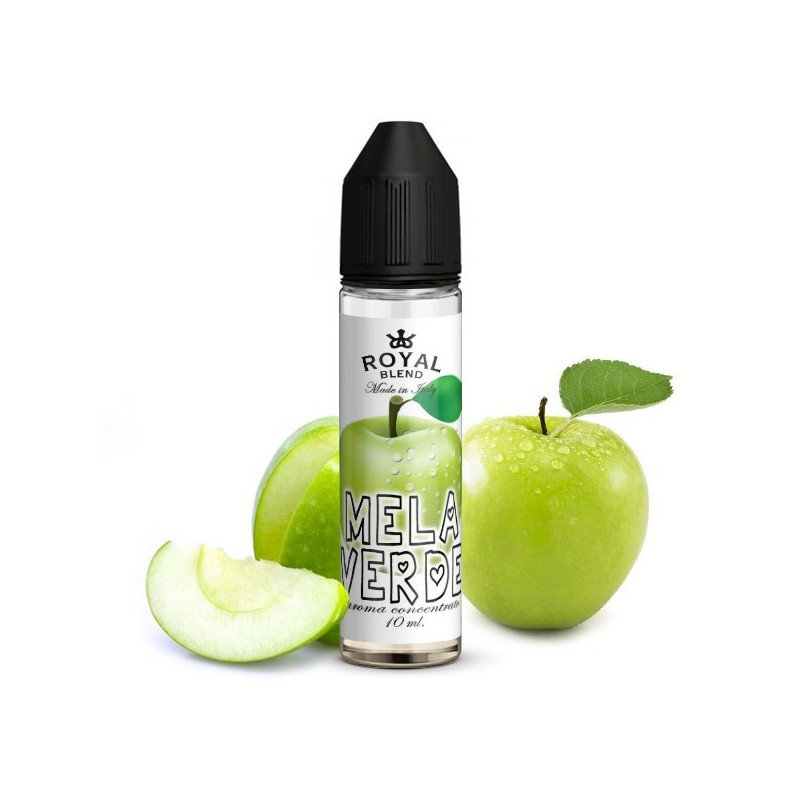 Royal Blend Mela Verde - Vape Shot 10ml