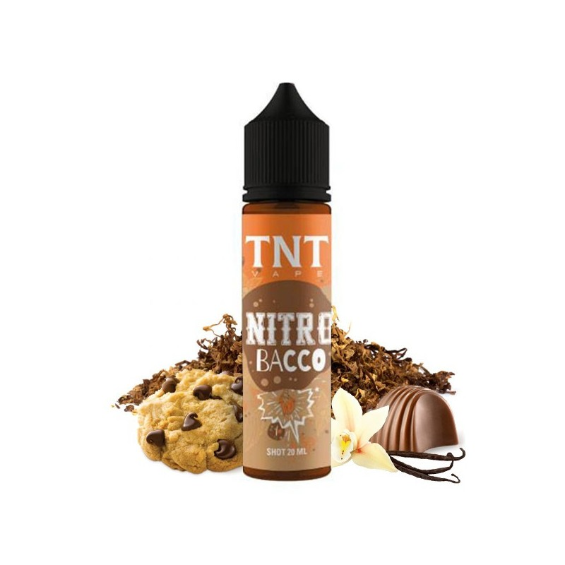 Vape-Shot-Nitro Bacco-by-TNT Vape-20ml-Scomposto