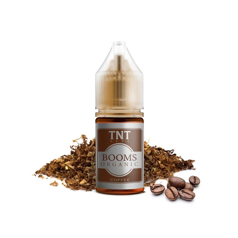 Aroma-Booms Organic Coffee-by-TNT Vape-10ml-Concentrato