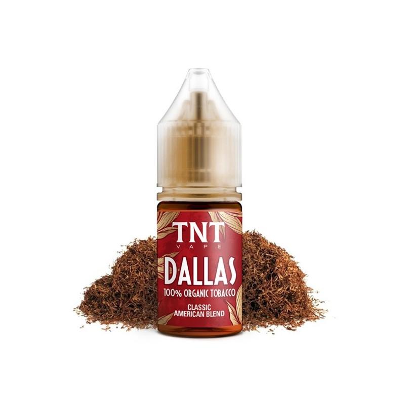 Aroma-Total Natural Tobacco Tobacco Dallas-by-TNT Vape-10ml-Concentrato