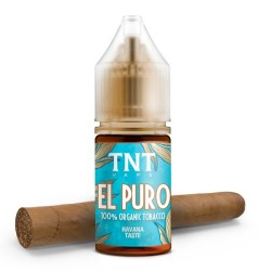 Aroma-Total Natural Tobacco El Puro-by-TNT Vape-10ml-Concentrato