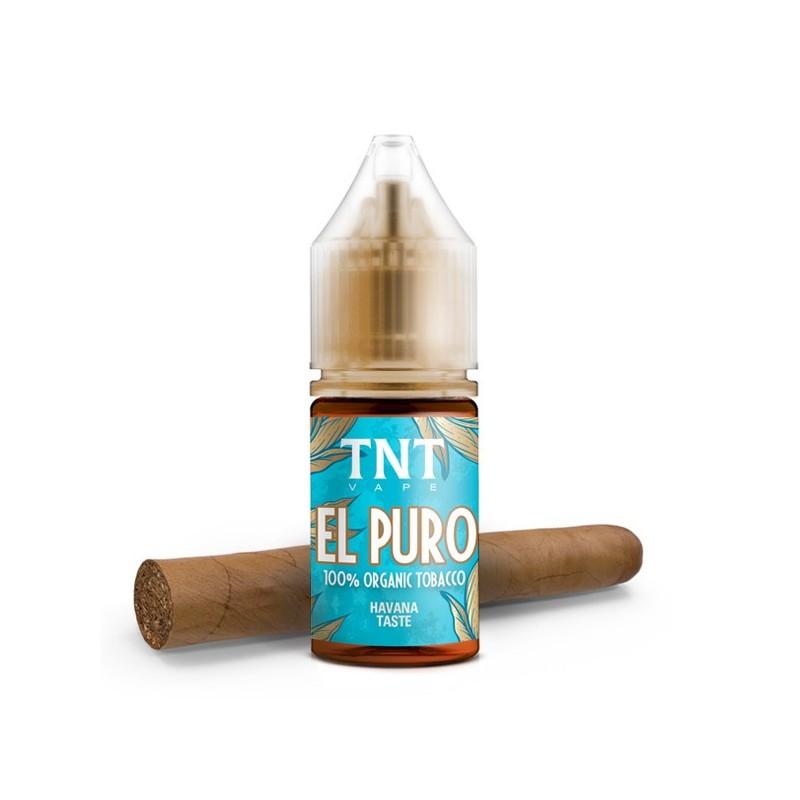 Aroma-Total Natural Tobacco El Puro-by-TNT Vape-10ml-Concentrato