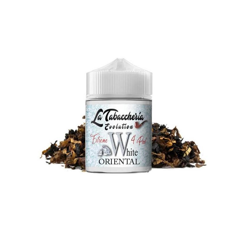 White-Oriental-Vape-Shot-By-La-Tabaccheria - Linea-Extreme-4-Pod - 20ml