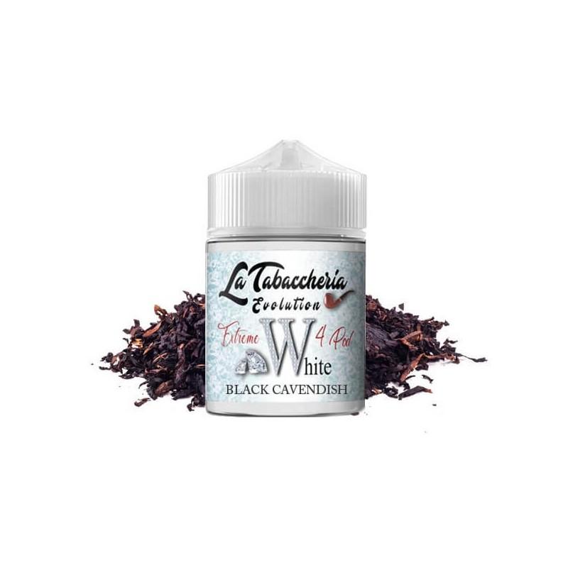 White-Black-Cavendish-Vape-Shot-By-La-Tabaccheria - Linea-Extreme-4-Pod - 20ml